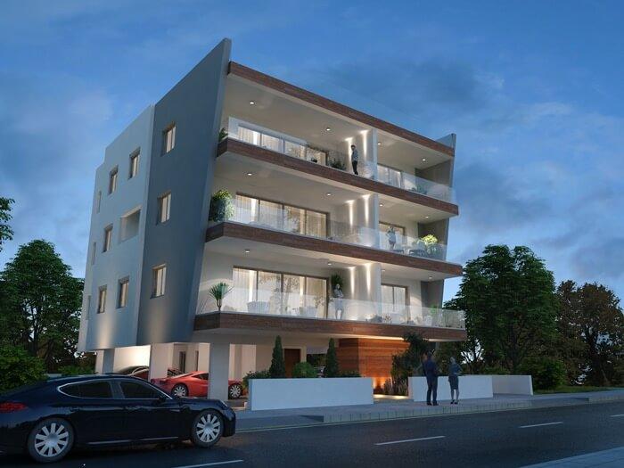 Elpida Apartments Prospective Drawing 2