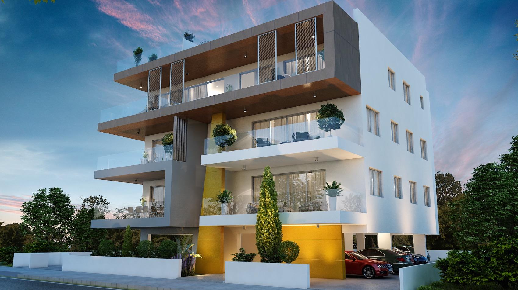 Οροφοδιαμέρισμα προς πώληση στην Δασούπολη - Πρόσοψη και Πλαγια Όψη -2