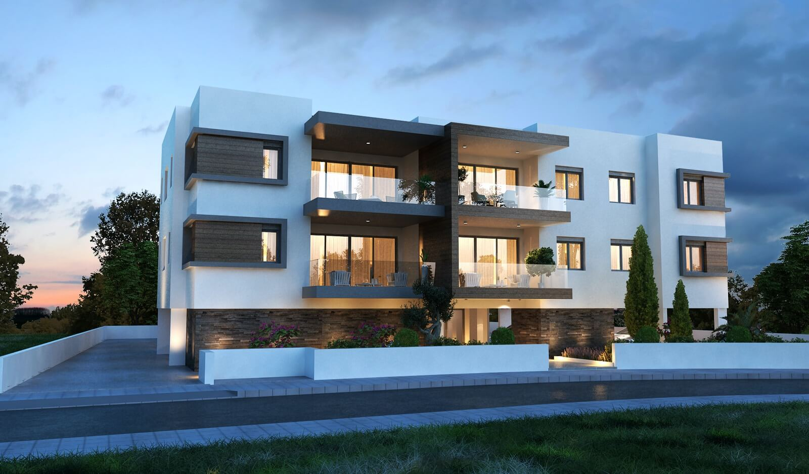 Apartments for sale Latsia Ourania Apartment Building